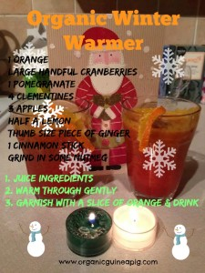 Organic Winter Warmer Juice